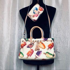 Dooney & Bourke Popsicle Handbag & Wristlet